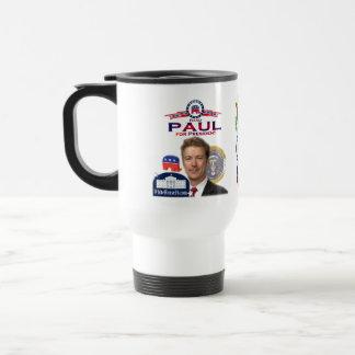 Rand Paul para presidente Travel Mug Taza De Viaje De Acero Inoxidable