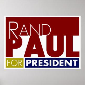 Rand Paul para presidente V1 Poster