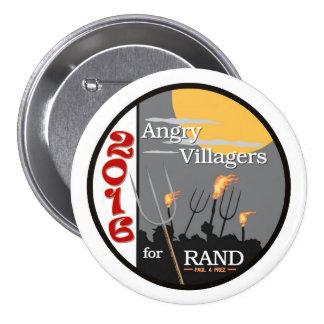 Rand Paul para Prez Pin Redondo 7 Cm