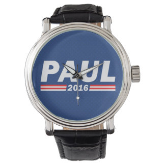 Rand Paul, Paul 2016 Relojes