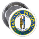 Rand Paul President 2016 3 Inch Round Button