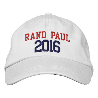 Rand Paul President 2016 Embroidered Baseball Hat