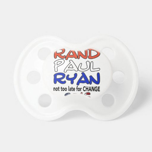 Rand Paul Ryan 2016 Presidential Election Pacifiers