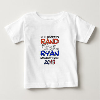 Rand Paul Ryan 2016 Presidential Election T-shirt