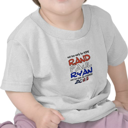 Rand Paul Ryan 2016 Presidential Election Shirt
