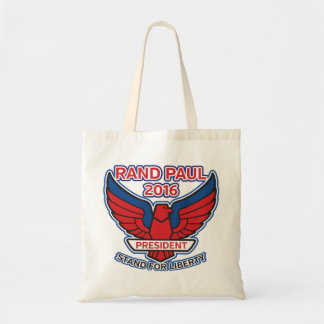 Rand Paul Stand for Liberty Budget Tote Bag