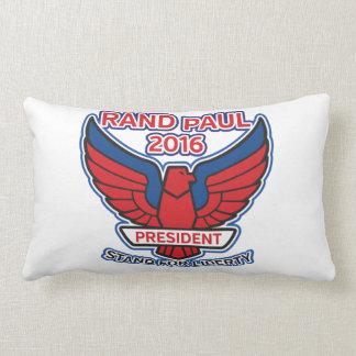 Rand Paul Stand for Liberty Lumbar Pillow