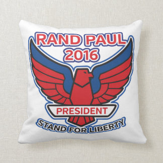 Rand Paul Stand for Liberty Throw Pillow