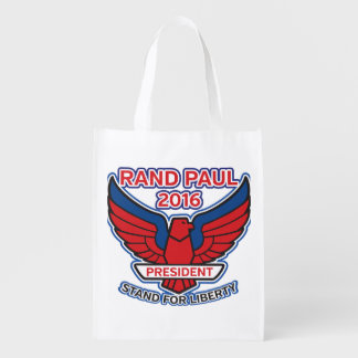 Rand Paul Stand for Liberty Grocery Bag
