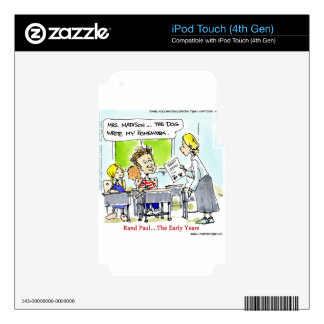 Rand Paul The Early Years Funny iPod Touch 4G Skin