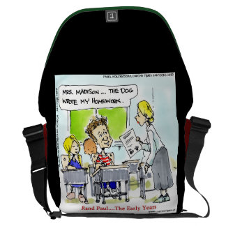 Rand Paul The Early Years Large Messenger Bag