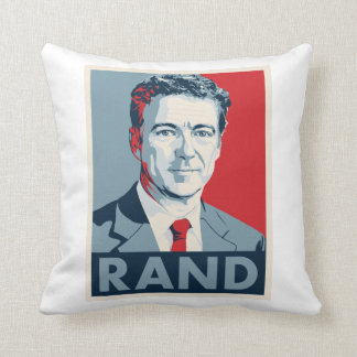 Rand Paul Throw Pillow