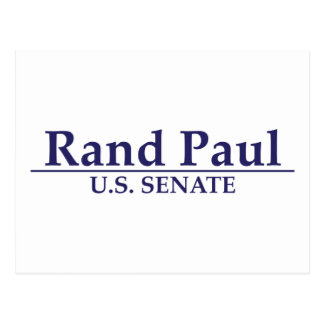Rand Paul U.S. Senate Postcard