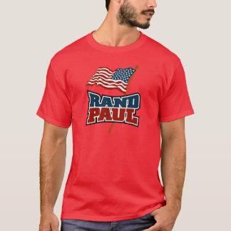 Rand Paul Waving American Flag T-Shirt