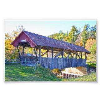 Randall Covered Bridge, Lyndonville, Vermont Photo Print