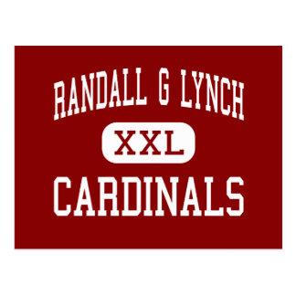 Randall G Lynch - Cardinals - Middle - Farmington Postcard