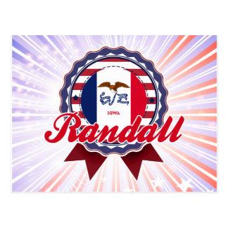 Randall, IA Postcard