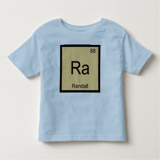Randall Name Chemistry Element Periodic Table Toddler T-shirt