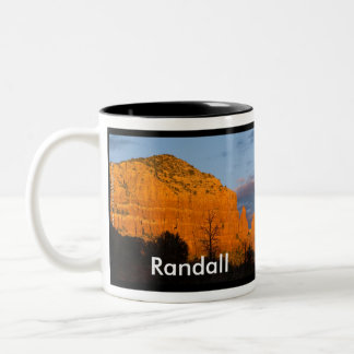 Randall on Moonrise Glowing Red Rock Mug