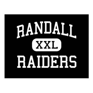 Randall - Raiders - High School - Amarillo Texas Postcard