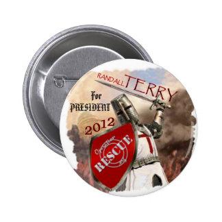 Randall Terry 2012 button