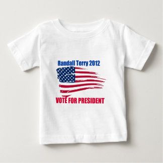 Randall Terry For President Baby T-Shirt