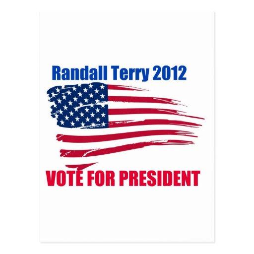 Randall Terry para el presidente Postal