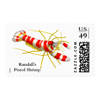 Randall's Pistol Shrimp Reef Creature Postage