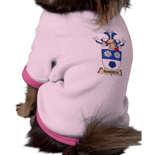 Randeck Family Crest Doggie T Shirt