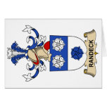 Randeck Family Crest Greeting Card