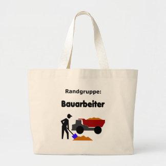 Randgruppe: Bauarbeiter Jumbo Tote Bag
