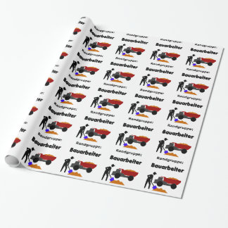 Randgruppe: Bauarbeiter Wrapping Paper
