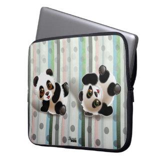 Randi & Peggi Panda© Computer Sleeve