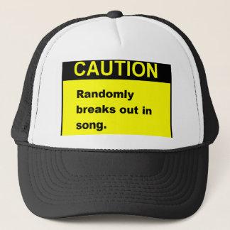 Randmon Song Trucker Hat