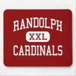 Randolph - cardenales - alto - Randolph Nebraska Tapete De Ratones