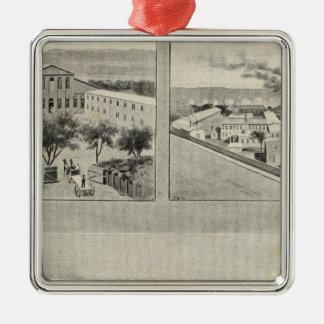 Randolph & Clowes, Waterbury Metal Ornament