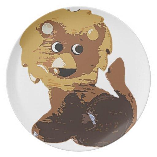 Randolph el león platos de comidas