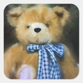 Randolph - Fuzzy Wuzzy Square Sticker