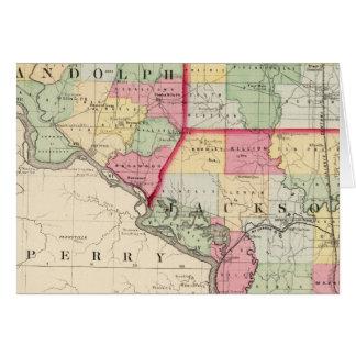Randolph, Perry, condados de Jackson Felicitación