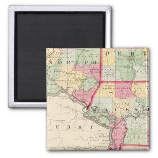 Randolph, Perry, condados de Jackson Imán De Nevera