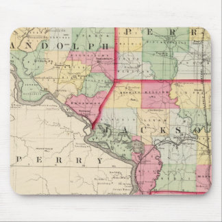 Randolph, Perry, condados de Jackson Tapete De Ratón