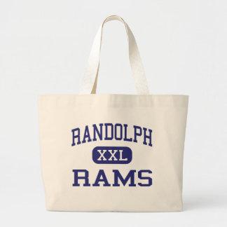 Randolph Rams Middle School Randolph Kansas Tote Bags