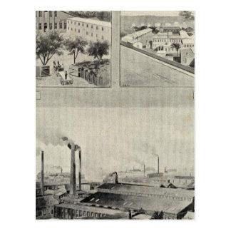 Randolph y Clowes, Waterbury Tarjeta Postal