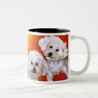 Randolph's Jasper & Cosmo Two-Tone Coffee Mug