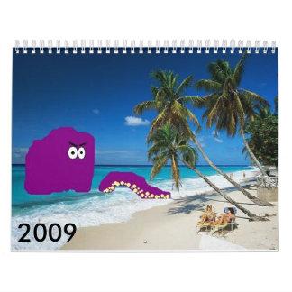 Random 2009 Calendar