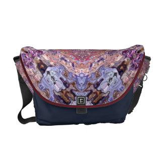 Random Abstract Design Courier Bag