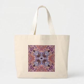Random Abstract Design Large Tote Bag