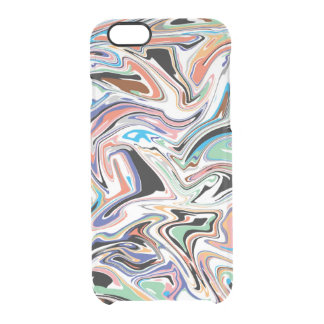 Random Abstract iPhone 6/6S Clear Case