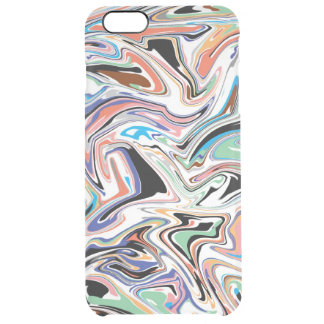 Random Abstract iPhone 6/6S Plus Clear Case
