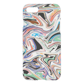 Random Abstract iPhone 7 Clear Case